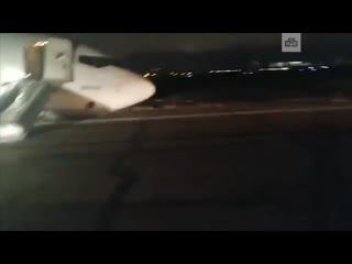 Экстренное приземление самолета в аэропорту Одессы