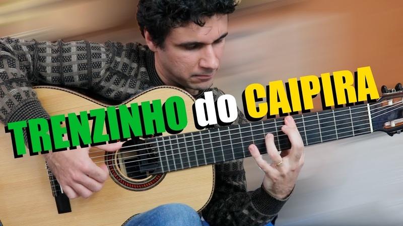 TRENZINHO do CAIPIRA Villa Lobos Classical Guitar Marcos Kaiser