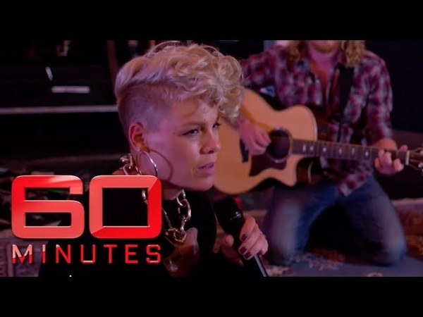 P nk's exclusive 'Barbies' performance 60 Minutes Australia