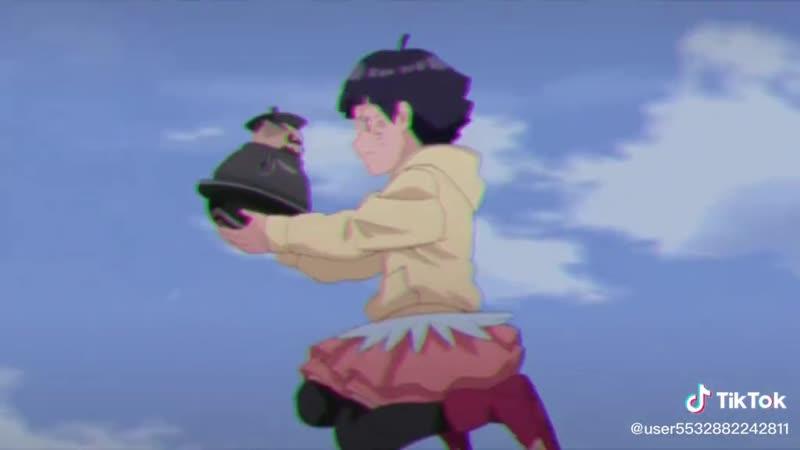 Химавари спасает Шукаку
