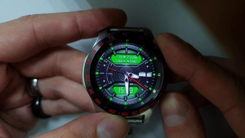 TRANSFORM PRO WW43 Customise Multilang watchface for Samsung Gear Samsung Galaxy watch