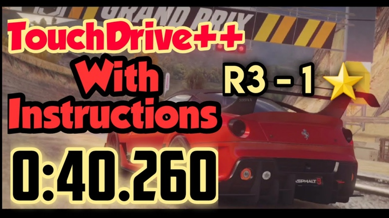 Asphalt 9 TouchDrive Instructions Added Ferrari 599XX 1* Grand Prix R3 0 40 260 60fps