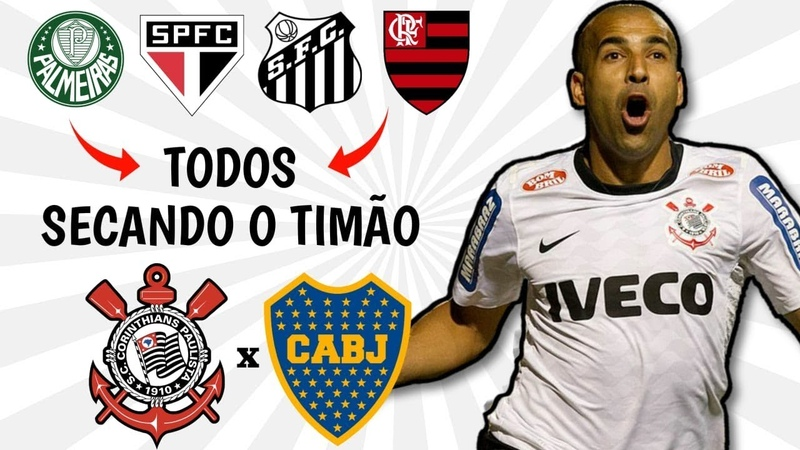 ESSE VÍDEO NÃO PODE MORRER: Rivais secam o Corinthians na LIBERTADORES 2012