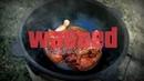Кулинарный эксперимент Как не нужно жарить курицу в казане на костре