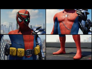 Marvel`s spider-man ps4 all 40 suits trailer every suit (2019)