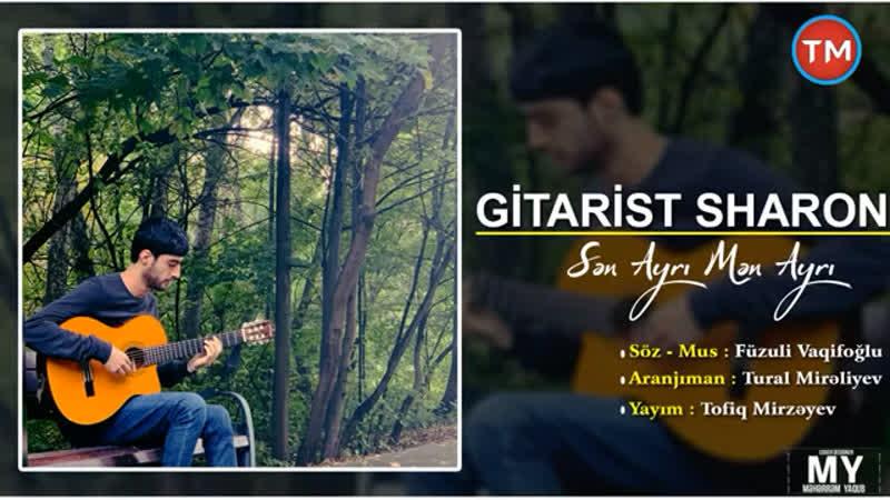 Gitarist Sharon Sen ayri men ayri ♥️🎶