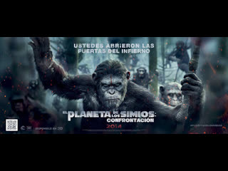 Планета обезьян: Революция 2014 г.  Драма/Триллер  2 ч 11 мин