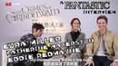 Best Friends Ezra Miller, Eddie Redmayne Katherine Waterstone 《神奇动物:格林德沃之罪》小雀斑采访