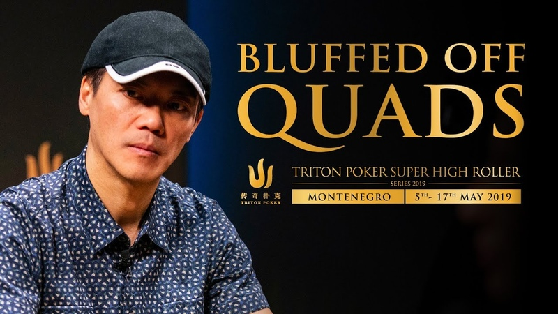 Bluffed off Quads!! Crazy hand from Triton Poker Montenegro 2019