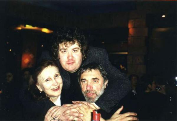 Эдуард с женой и сыном