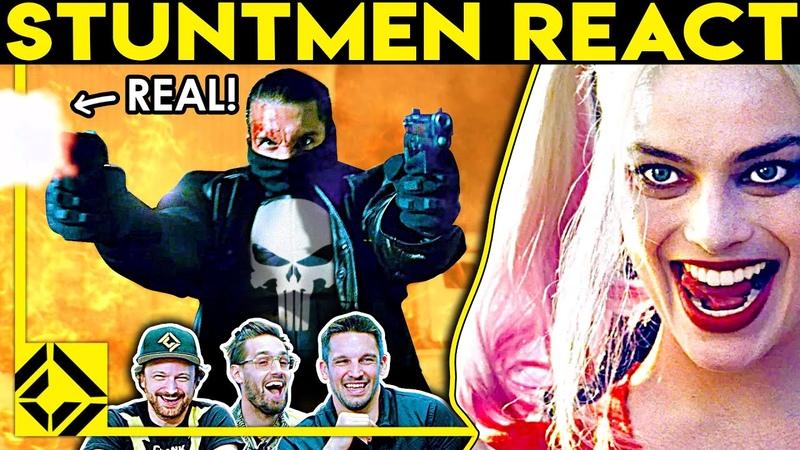 Stuntmen React To Bad Great Hollywood Stunts 19