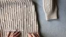 Боковые швы свитера