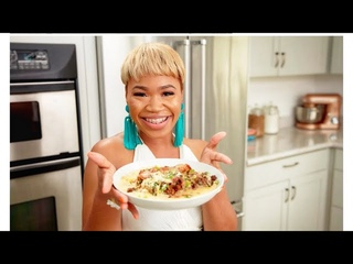 HOW TO MAKE STUFFED FRIED CHICKEN W/ SMOKED GOUDA GRITS !! TWO WAYS TO MAKE FRIED CHICKEN PART 1