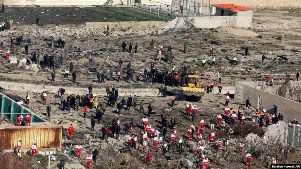 В Ірані заперечують розчищення місця катастрофи бульдозерами при тому, що такі кадри показало навіть місцеве телебачення - Цензор.НЕТ 8876