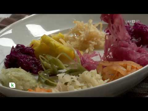 Roh fermentiertes Gemüse für die Gesundheit ORF konkret
