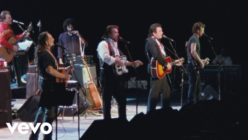 The Highwaymen The Last Cowboy Song American Outlaws Live at Nassau Coliseum 1990