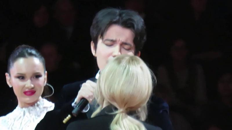 Dimash, Lara Fabian, Aida Garifullina: trio in Moscow Димаш, Лара и Аида в Москве