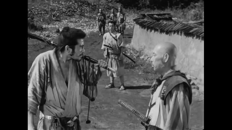 Семь самураев Shichinin no samurai яп 七人の侍 1954 прокатный перевод 1989 года