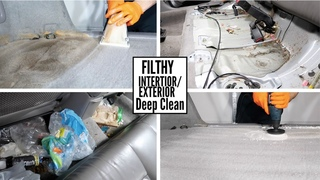 Subaru Forester - Deep Clean Filthy Car detailing transformation