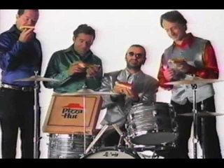 Pizza Hut Ringo and The Monkees