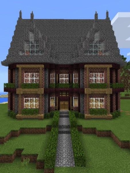 как построить красивый дом а майнкрафте #5