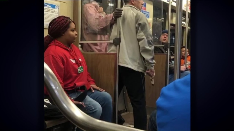 It matters to me Video shows Good Samaritan take gun from robber on Blue Line train