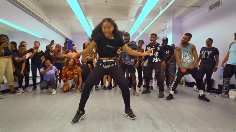 Yemi Alade Oh My Gosh Choreography by Izzy Odigie ¦ NYC CLASS