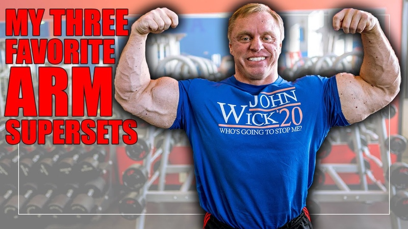 My 3 Favorite Supersets For Massive Arms