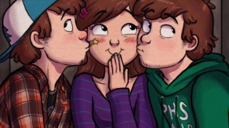 Dipper Mabel and Tyrone