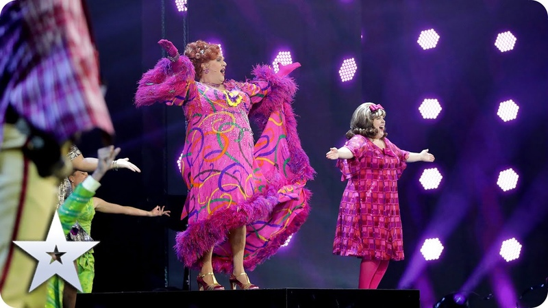 'You Can't Stop The Beat' with Michael Ball the cast of Hairspray Semi Finals BGT 2020