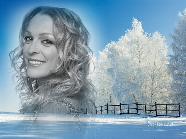 Annie Villeneuve = Le sentier de neige