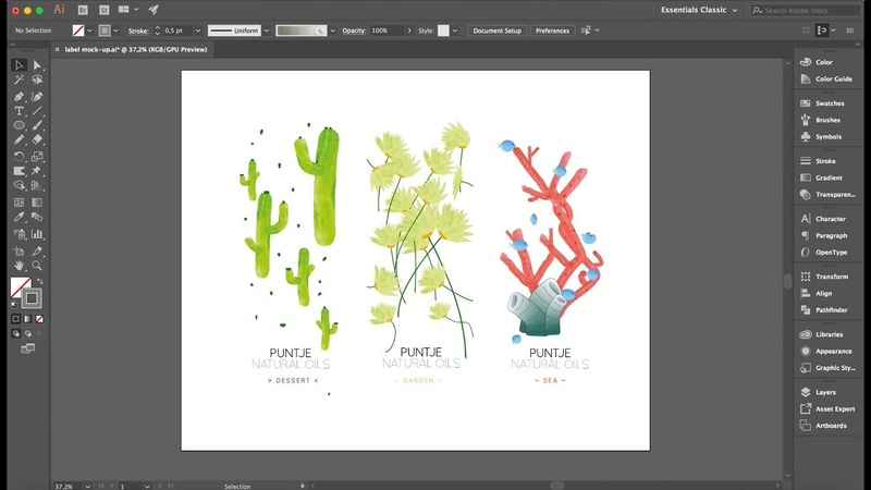 Design Exercise no 16 - The Best Illustrator Brushes Tutorial Ever