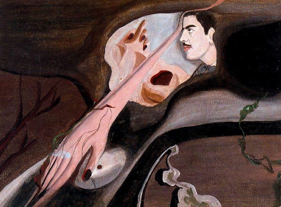 "Оскар Домингес, ""Автопортрет"", 1931 год."