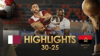 Highlights: Qatar - Angola | Group Stage | 27th IHF Men's Handball World Championship | Egypt2021