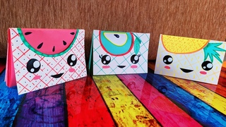 DIY Kawaii Fruit Notepads | Back to school | Margosha