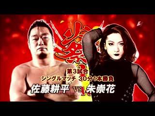 Kohei Sato vs. ASUKA (ZERO1 Fire Festival 2019 - Tag 14)