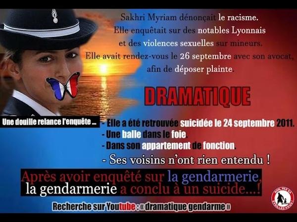 DRAMATIQUE Une Gendarme trouvée morte 1 balle ventre dans sa caserne voisins = rien entendu