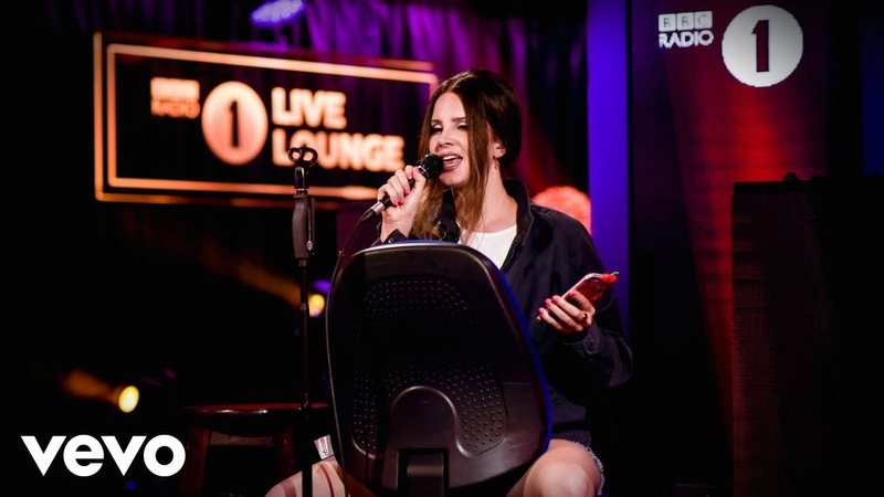Lana Del Rey Break Up With Your Girlfriend I'm Bored in the Live Lounge