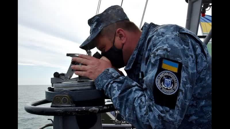 Морські прикордонники у складі ООС відпрацювали навчання зі стрільбами в Азовському морі