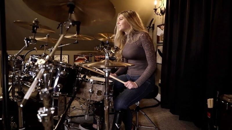 """NONPOINT """"There's Going to Be a War"""" Drum Cover~Brooke C"""