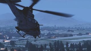 Прикрытие ночной атаки — UH-1Y — ArmA 3 — Серьёзные Игры на Тушино