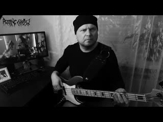 Rotting Christ  Non Serviam (bass cover)
