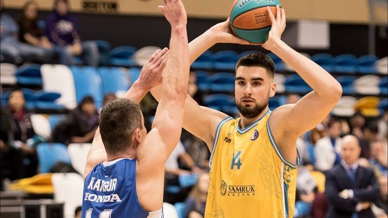 Dusan Ristic Highlights 17 Pts, 13 Reb vs BC Kalev 08.03.2020
