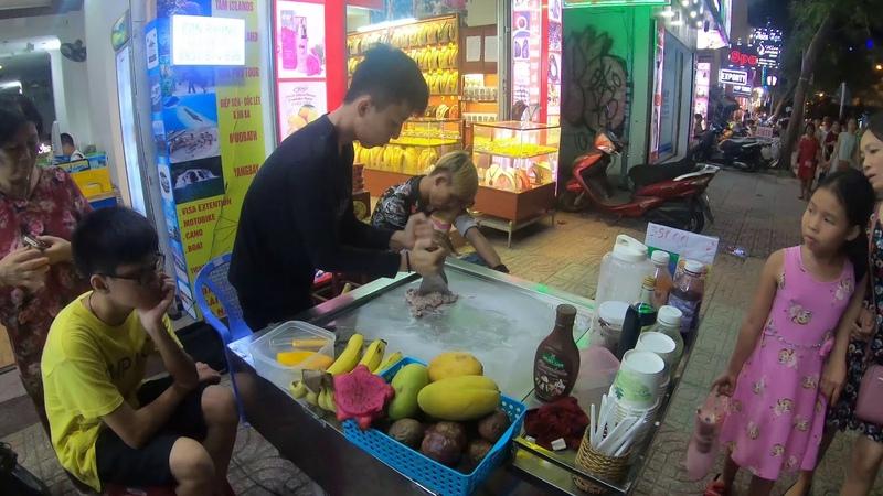 Vietnam, Nha Trang, ice cream. Việt Nam Nha Trang, мороженое