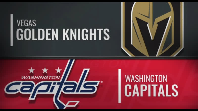 NHL Regular Season 2019-20 Vegas Golden Knights-Washington Capitals