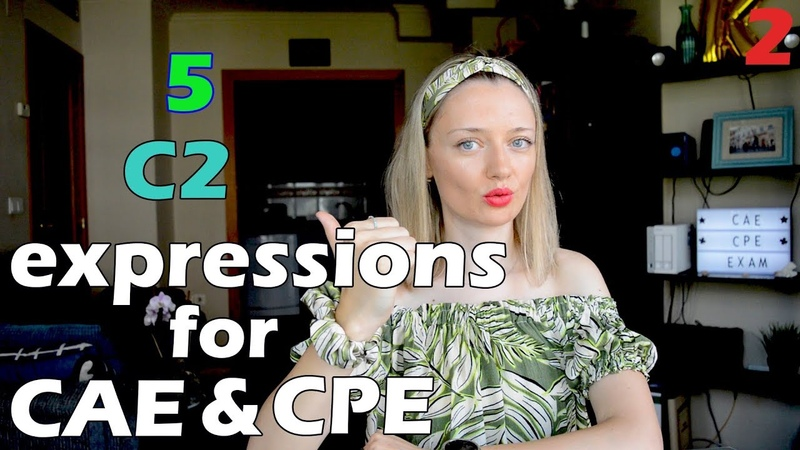 5 C2 expressions to pass CAE and CPE with flying colours 🚁🌈