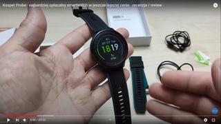 Kospet Probe - najbardziej opłacalny smartwatch w jeszcze lepszej cenie -   recenzja / review