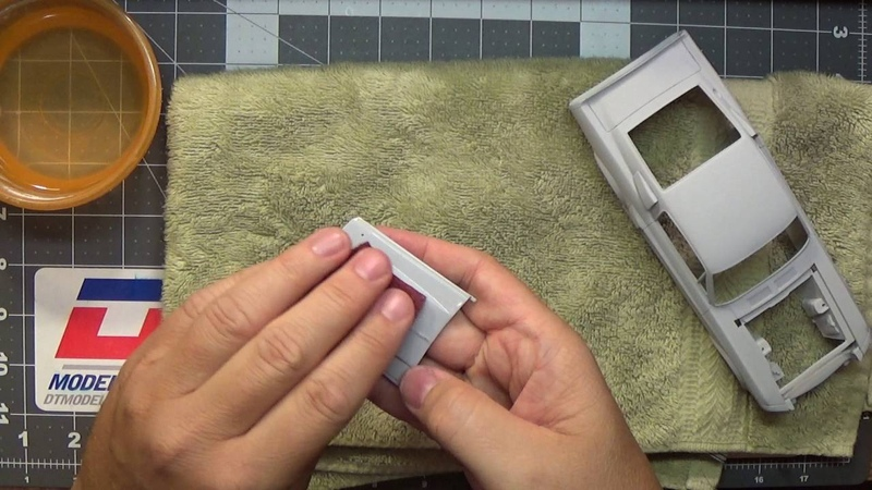 1967 Shelby Mustang GT500 Eleanor scale model build-up video part 3