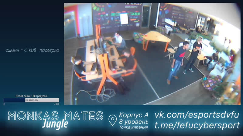 Live FEFU Cybersport club Monkas Mates