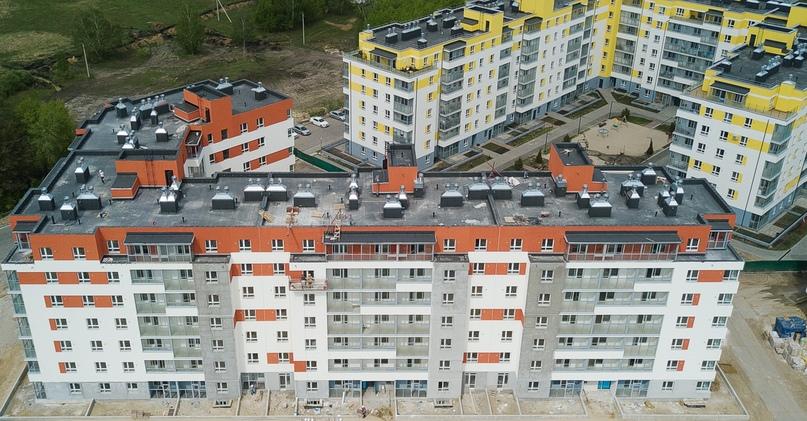 Отчет о ходе строительства ЖК «Апрель» май 2020, изображение №32